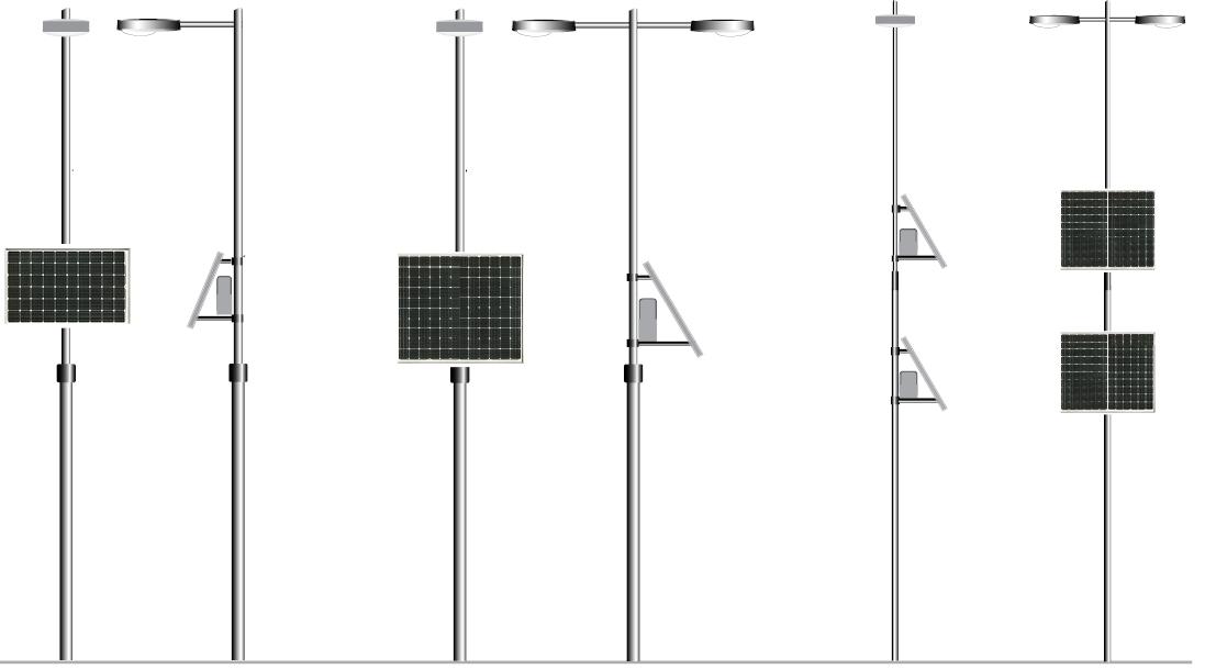 smart city kit solar de alumbrado público